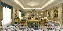 霍山雅典花园酒店设计(五星级)-总统套